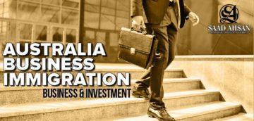 Australia Business Immigration