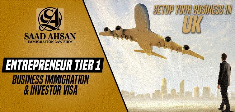 Tier1 UK Entrepreneur Visa