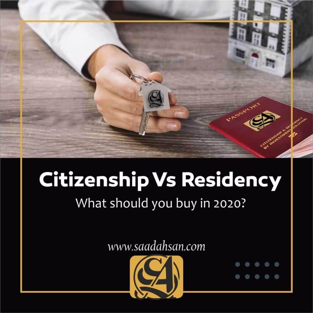 Citizenship Vs Residency